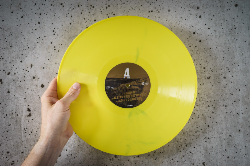 The Peeled Eye - it's YELLOW