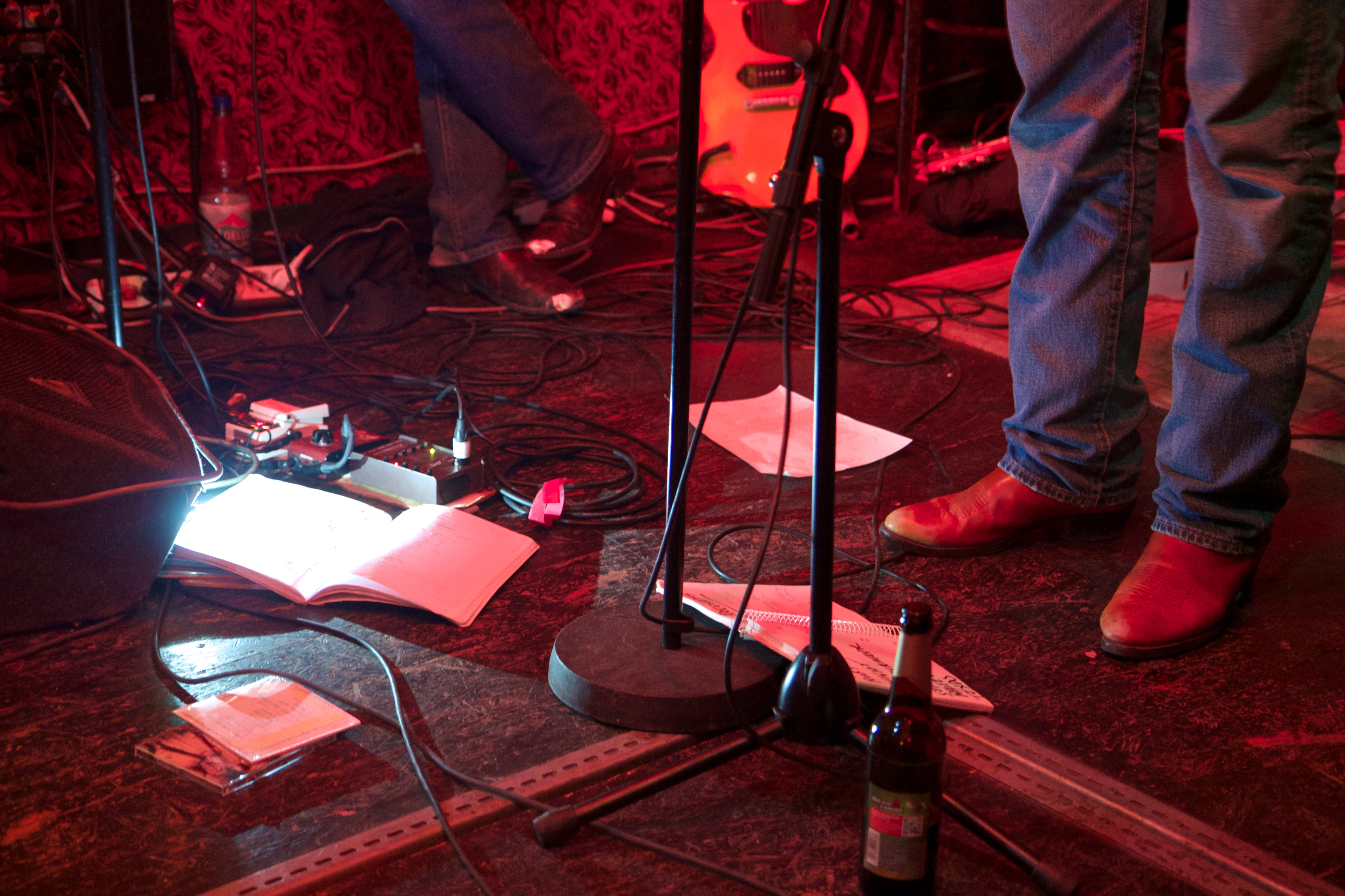 boots, beer and setlist